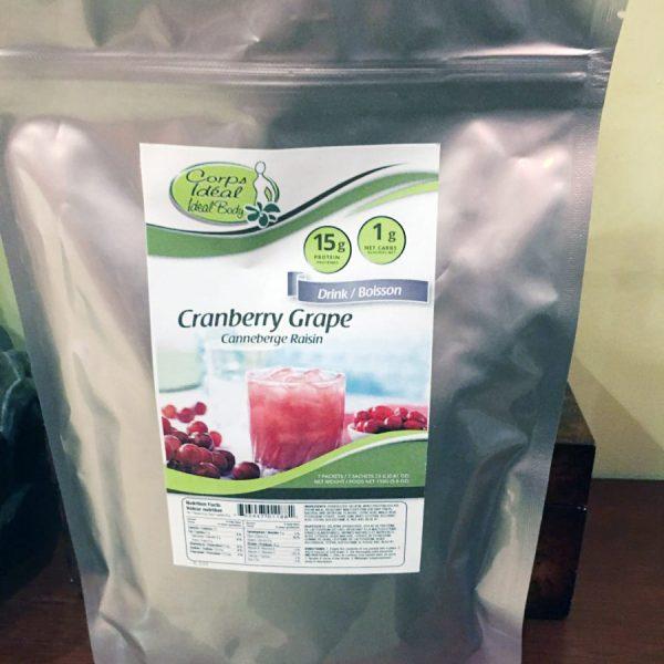Cranberry Grape Jus